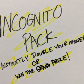 INCOGNITO PACK